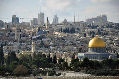 Prophets of Jerusalem city. The city of Jerusalem and the Aqsa Mosque prophet Stock Photos