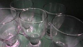 Propiedad de la foto cinco vidrios hermosos imagen de archivo libre de regalías