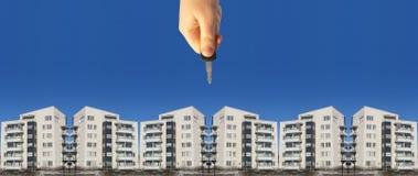 Propiedad de propiedades inmobiliarias Fotos de archivo