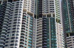 Propiedad horizontal de Hong Kong Imagen de archivo libre de regalías