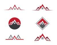 Propiedad Logo Template Imagenes de archivo