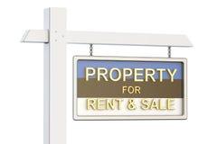 Propiedad para la venta y alquiler en el concepto de Estonia Real Estate firma, Fotografía de archivo