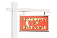 Propiedad para la venta y alquiler en el concepto de Turquía Real Estate firma, Fotos de archivo libres de regalías