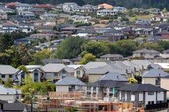 Propiedad y mercado inmobiliario de vivienda de Nueva Zelanda Foto de archivo