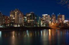 Propiedades horizontales de Calgary foto de archivo