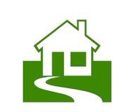 Propiedades inmobiliarias/casas Stock de ilustración