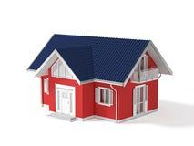 propiedades inmobiliarias 3d Imagen de archivo libre de regalías