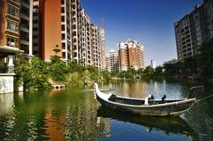 Propiedades inmobiliarias de China Imagen de archivo libre de regalías