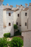 Propiedades inmobiliarias de España imagen de archivo