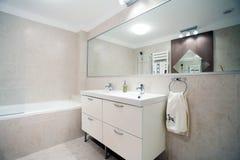 Propiedades inmobiliarias del cuarto de baño Fotos de archivo