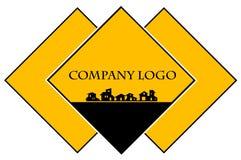 Propiedades inmobiliarias - empresa de la construcción stock de ilustración