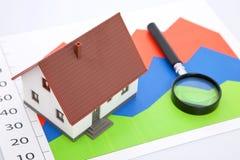Propiedades inmobiliarias en asunto fotos de archivo libres de regalías