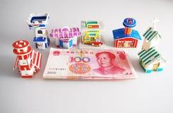 Propiedades inmobiliarias en China Imágenes de archivo libres de regalías