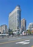 Propiedades inmobiliarias en el centro de ciudad de Shangai, China Fotografía de archivo
