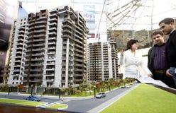 Propiedades inmobiliarias justas Fotografía de archivo libre de regalías