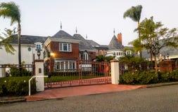Propiedades inmobiliarias meridionales de California Foto de archivo libre de regalías