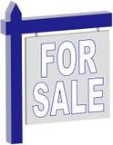 Propiedades inmobiliarias - PARA la muestra de la VENTA fotografía de archivo libre de regalías