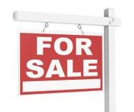 Propiedades inmobiliarias para la venta Fotos de archivo libres de regalías