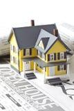 Propiedades inmobiliarias para la venta Imagen de archivo