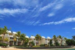 Propiedades inmobiliarias por la playa Fotografía de archivo