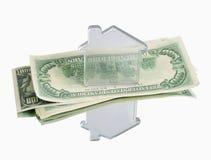Propiedades inmobiliarias y finanzas fotografía de archivo