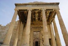 Propilea on Acropolis in Athens, Greece. Stock Photo