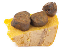 Propolis and beeswax Royalty Free Stock Image