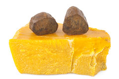 Propolis and beeswax Stock Image