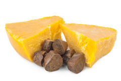 Propolis and beeswax Royalty Free Stock Photo
