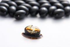 Propolis capsule Royalty Free Stock Image