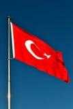 proportions den official originalen för flaggan kalkonen Arkivfoto