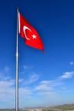 proportions den official originalen för flaggan kalkonen Royaltyfri Foto