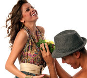 The proposal Stock Photography