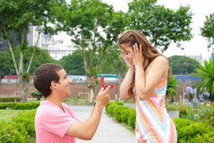 Proposal Royalty Free Stock Photo