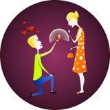 The proposal Stock Photos