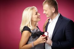 Proposal Royalty Free Stock Photos