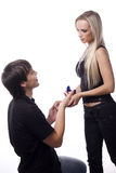 Proposal of marriage Stock Image