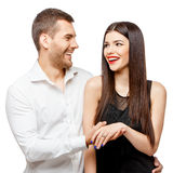 Proposal of marriage Stock Images