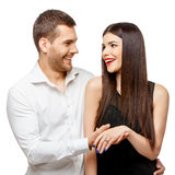 Proposal of marriage Stock Photos