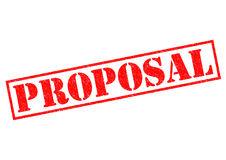 PROPOSAL Royalty Free Stock Photography