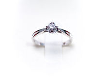 A proposal ring Stock Image