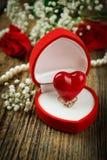 Proposal ring Stock Image