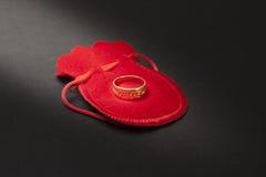 Proposal ring Royalty Free Stock Photos