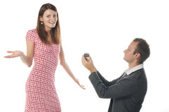 Proposal scene Stock Photography