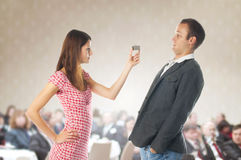 Proposal scene Royalty Free Stock Images