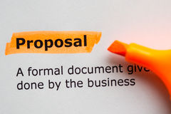 Proposal Stock Photography