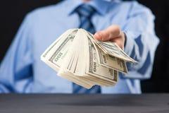 Proposition d'argent Photographie stock