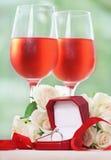Proposition de mariage Photo libre de droits