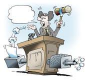 Proposition législative sur les émissions inférieures du CO2 Image stock