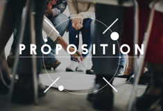 Proposition Suggestion Recommendation Offer Proposal Concept Royalty Free Stock Photography